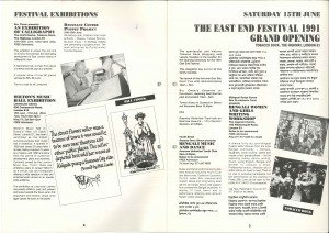 1991 East End Festival Booklet (2)
