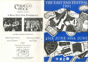 1991 East End Festival Booklet