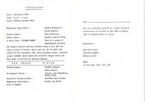 1986 TEEF - A Multicultural Celebration Programme (2)