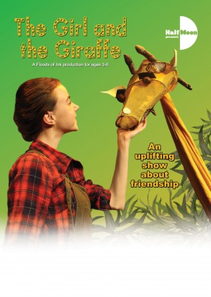 The Girl and the Giraffe, flyer front