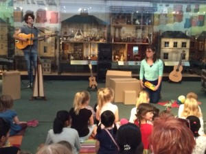 Lullaby Lane performance at the Museum of Childhood