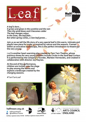 Early version of the Leaf flyer back design
