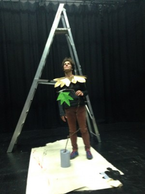 Rehearsal image from the research and development phase of Leaf