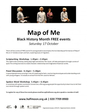 Map of Me, Black History Month poster