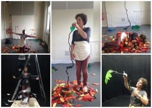 Rehearsal montage from the research and development phase of Leaf