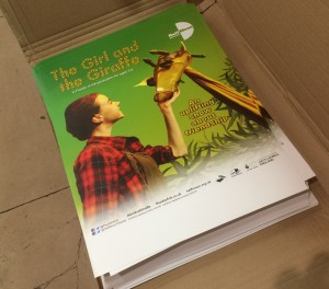 The Girl and the Giraffe posters arrive