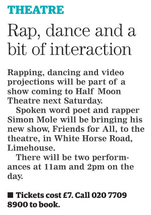 2017.03.01 - Newham Recorder, Friends For All