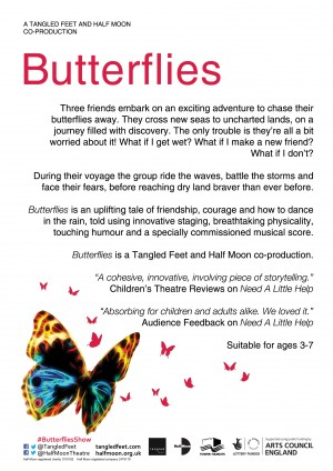 Butterflies phase 1 flyer