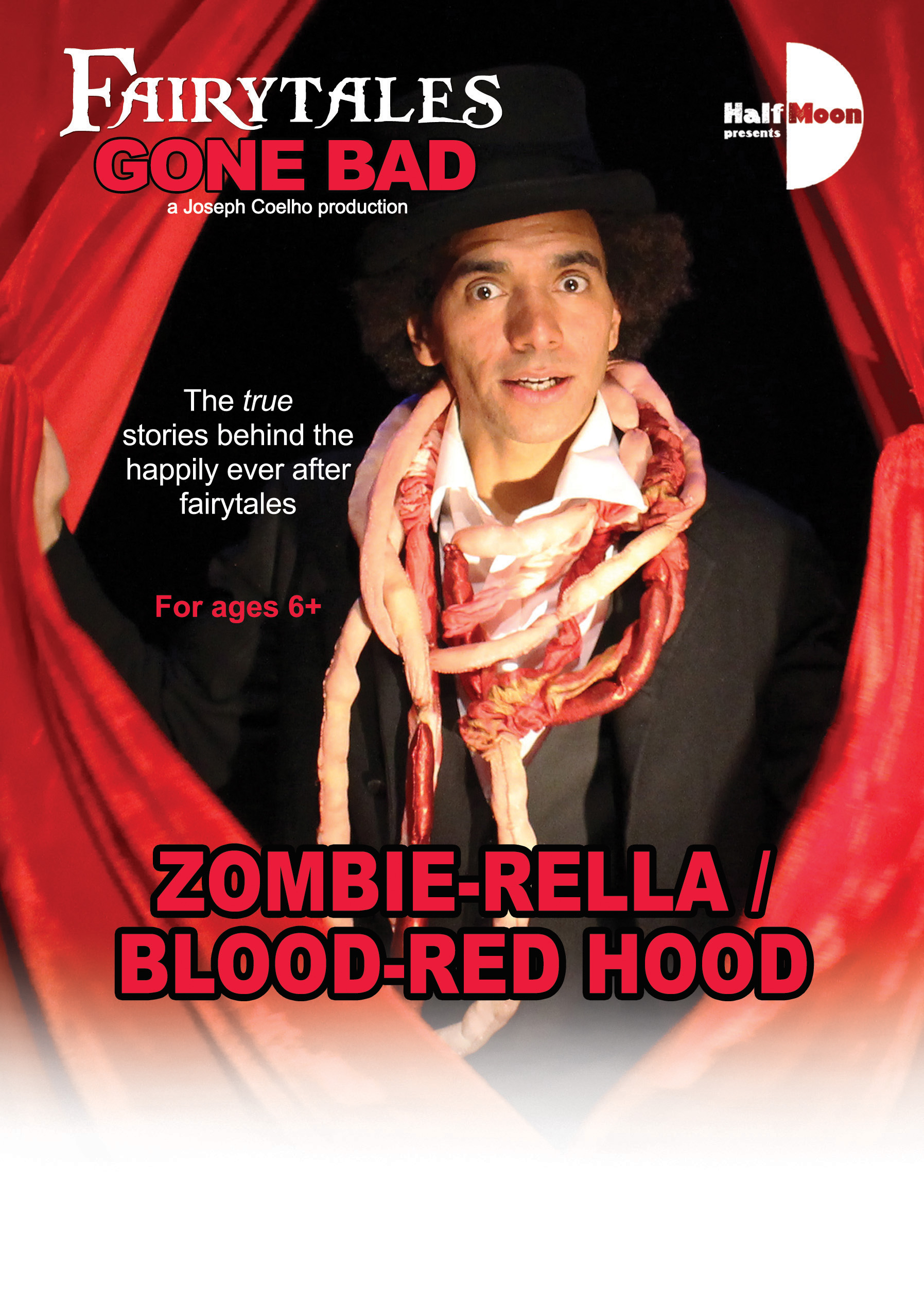 Fairytales Gone Bad: Zombie-rella / Blood-red Hood flyer