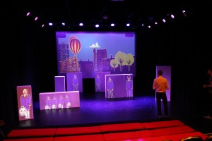 Friends for All tech at Half Moon Theatre
