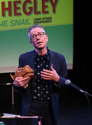 John Hegley: All Hail the Snail (and other creatures). Photo by Stephen Beeny