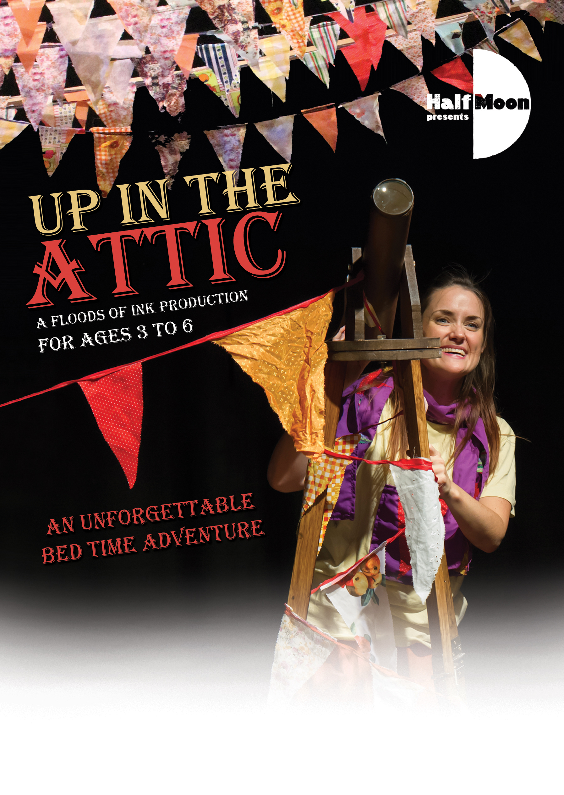 Up in the Attic - flyer