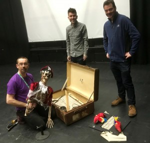 Young Herbert's Horrors rehearsal