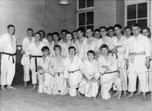 Judo Enthusiasts at the Stewart Headlam Institute, Culloden School, 1963. Image courtesy of the Tower Hamlets Local History Library and Archives.