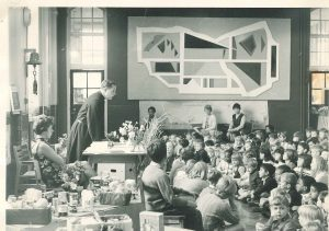 Cayley School assembly 1960s