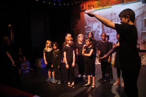 Eclipse Youth Theatre performing The Bomb Site Playground, part of Playful Heritage