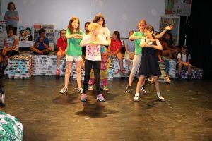 Equinox Playful Heritage rehearsal