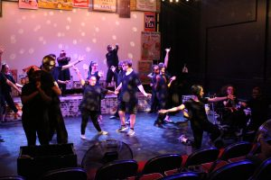 Solar Youth Theatre rehearsing Rock Around the Clock