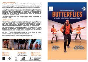 Butterflies programme cover, 2018