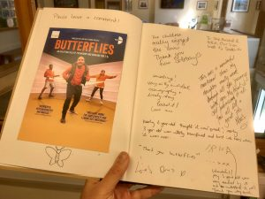 Audience feedback for Butterflies, 22 September 2018