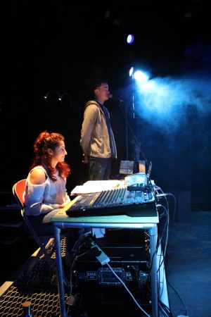 Off the Grid tech rehearsals. Photo by Stephen Beeny