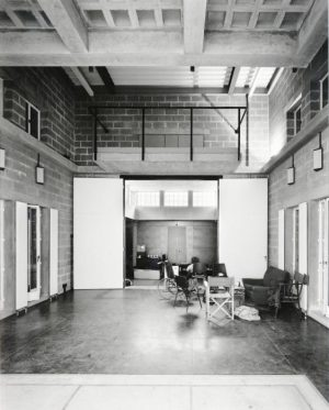 Interior of Half Moon Young Peoples Theatre. Photo P. Cook, April 1985