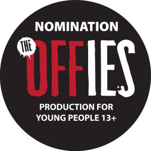 Off the Grid OFFIE nomination badge