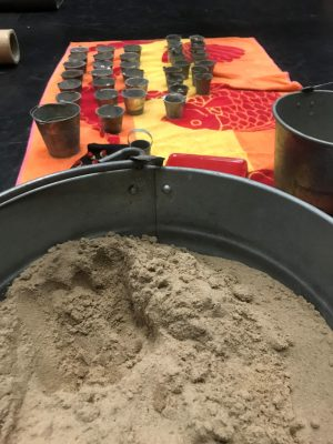 Circles in the Sand props
