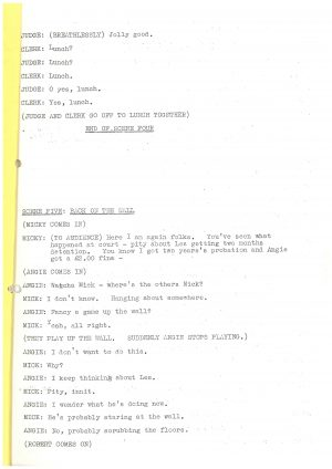 Driving Us Up the Wall - Script (12)