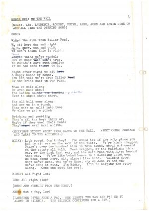 Driving Us Up the Wall - Script (2)
