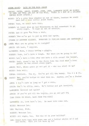 Driving Us Up the Wall - Script (22)