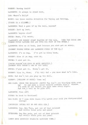 Driving Us Up the Wall - Script (3)