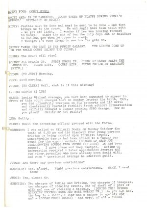 Driving Us Up the Wall - Script (9)