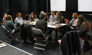 Crowded, theatre tour read through.