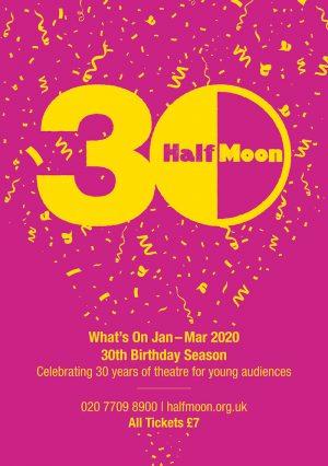 Half Moon spring 2020 brochure cover