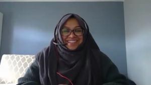 Sabiha Khanam being interviewed for Born 1990