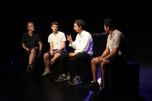 Production photo of Q&A with the creative team of Daytime Deewane