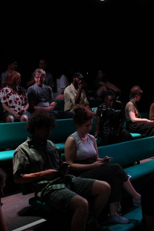 A photo of the audience for the Empathy and Resilience Showcase