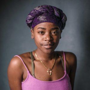 Headshot of spoken word artist Tatenda Naomi Matsvai