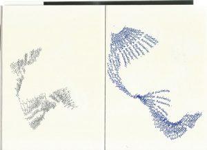 Drawing by sound designer, Jake Walker, for LOOPINDOORS.