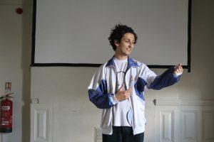 Rehearsal photo of actor Jonny for Daytime Deewane