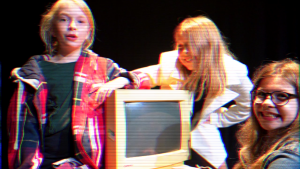 Production stills from Connectivity - The Birth of the Internet by Eclipse Youth Theatre for Happened 1990