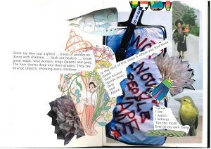 A picture collage created by writer Tracy Bickley